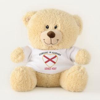 Alabama Loves You Teddy Bear