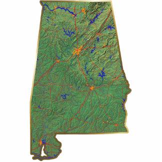 Alabama Map Magnet Cut Out