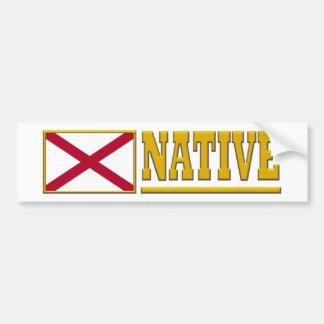 Alabama Native Bumper Stickers