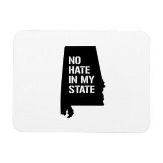 Alabama: Ningún odio en mi estado Iman Rectangular