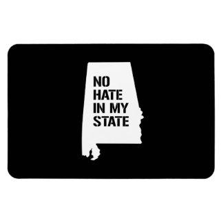Alabama: Ningún odio en mi estado Imán De Vinilo