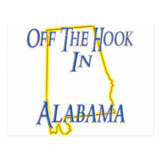 Alabama - Off The Hook Postcard