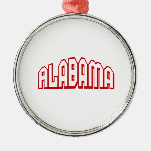 Alabama Ornamentos De Navidad