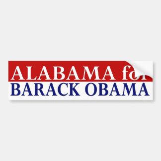 Alabama para la pegatina para el parachoques de Ba Pegatina Para Auto