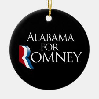 Alabama para Romney 2012 - png Ornamento Para Arbol De Navidad