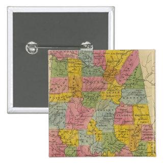 Alabama Pin Cuadrada 5 Cm