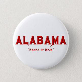 ALABAMA PINBACK BUTTON