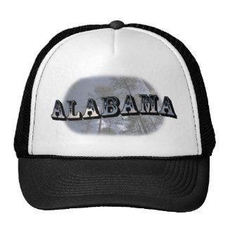 Alabama Pine Trees Baseball Cap Hat