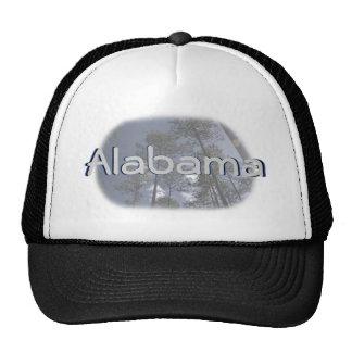 Alabama Pine Trees Baseball Cap Trucker Hats