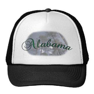 Alabama Pine Trees Baseball Cap Mesh Hats