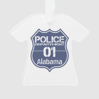 Alabama Police Department Shield 01