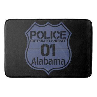 Alabama Police Department Shield 01 Bathroom Mat