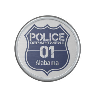Alabama Police Department Shield 01 Bluetooth Speaker
