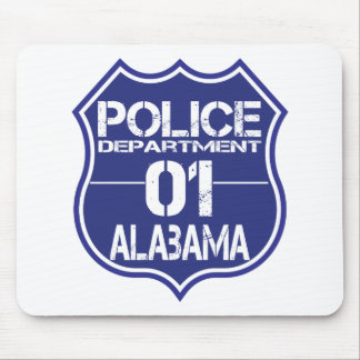 Alabama Police Department Shield 01 Mouse Pad