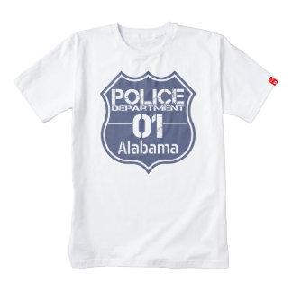 Alabama Police Department Shield 01 Zazzle HEART T-Shirt