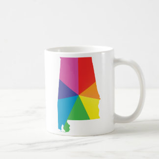 alabama pride. angled. coffee mug