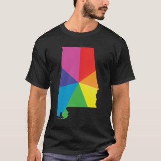 alabama pride. angled. T-Shirt