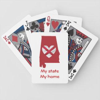 Alabama pride bicycle playing cards