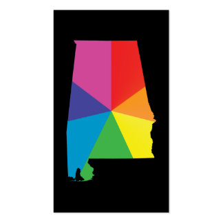 alabama pride Double-Sided standard business cards (Pack of 100)