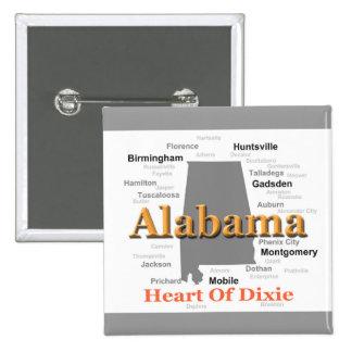 Alabama Pride Map Button