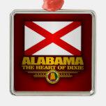 Alabama Pride Metal Ornament