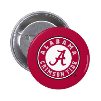 Alabama Primary Mark 2 Inch Round Button