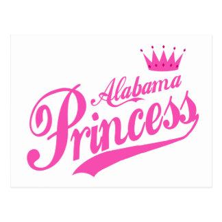 Alabama Princess Postcard