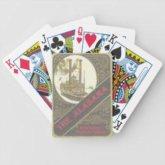 Alabama Riverboat Playing Card Bicycle Playing Cards
