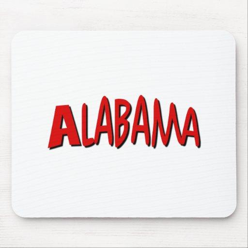 Alabama roja mouse pads