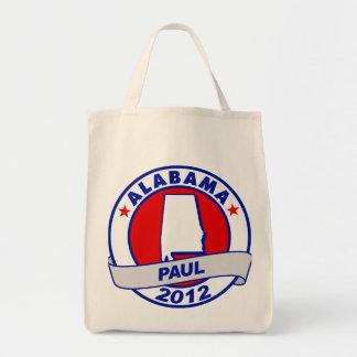 Alabama Ron Paul Canvas Bags