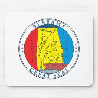 Alabama Seal Mouse Pad
