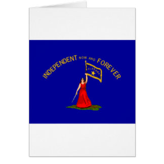 alabama secession flag card
