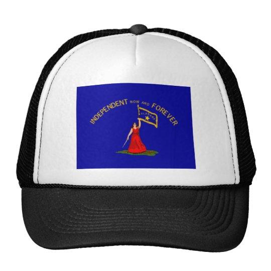 alabama secession flag trucker hat