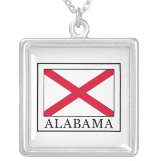 Alabama Silver Plated Necklace