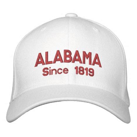 Alabama Since 1819 Cap