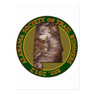 Alabama Society of Trail Runners Postcard