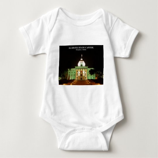 ALABAMA STATE CAPITOL BABY BODYSUIT