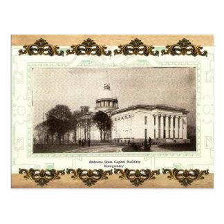 Alabama State Capitol Building Old Postcard