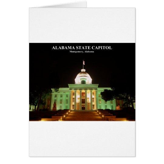 ALABAMA STATE CAPITOL CARD