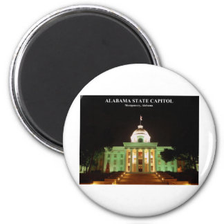 ALABAMA STATE CAPITOL REFRIGERATOR MAGNETS