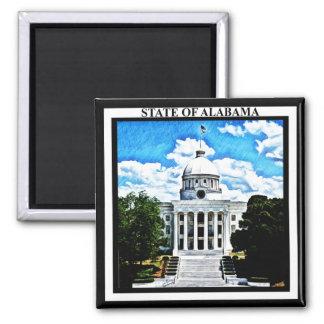 Alabama State Capitol Magnet