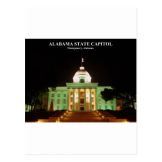 ALABAMA STATE CAPITOL POSTCARD