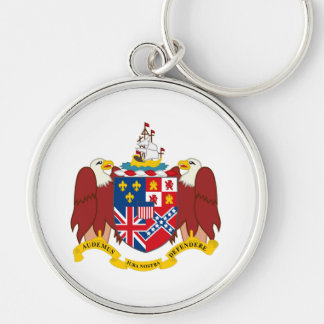 Alabama state coat of arms seal america republic s keychain