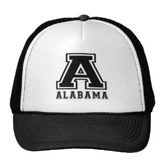 Alabama State Designs Trucker Hat