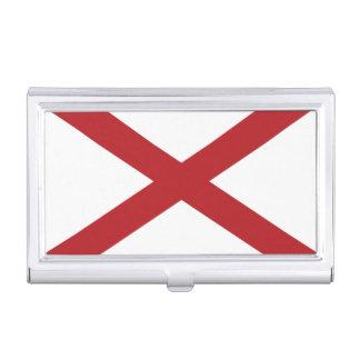 Alabama State Flag Business Card Case