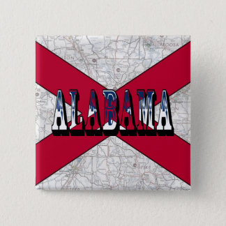 Alabama State Flag Button