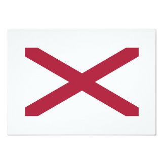 Alabama State Flag Card