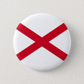 Alabama State Flag Design Button