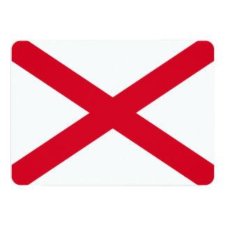 Alabama State Flag Design Card