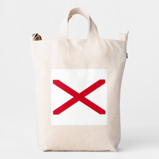 Alabama State Flag Design Duck Bag